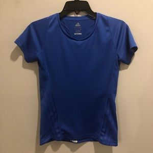 Adidas Climacool supernova workout shirt blue